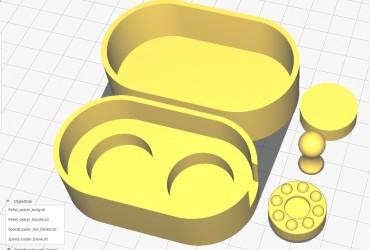 3D-Druck Dateien für Diabolo Speedloader – 2 Umarex Trommeln (8-schüssig)