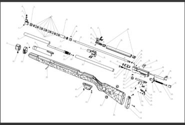 Explosionszeichnung DIANA K98 PCP