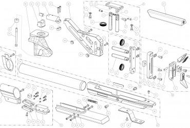Anschütz 9015 Explosionszeichnung und Anleitung