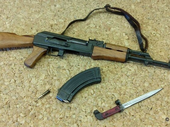 AK-47 Miniatur