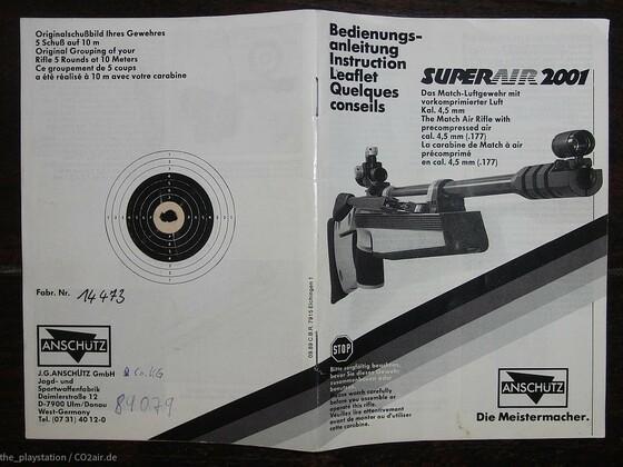 Werksschußbild Anschütz SA 2000