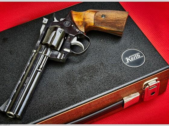 "Korth Revolver  357 Mag.  6""-Lauf"