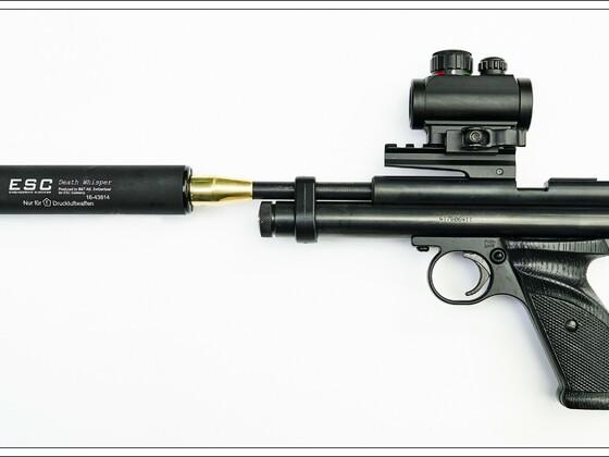 Crosman 2240 Pistole mit Upgrade