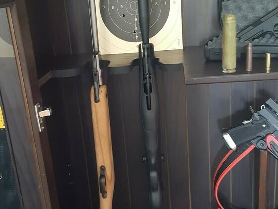 Haenel III 56 & Browning x-blade