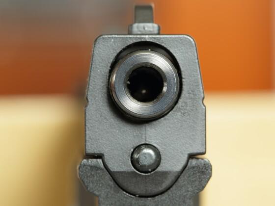 Mündungsschoner an Walther PK380