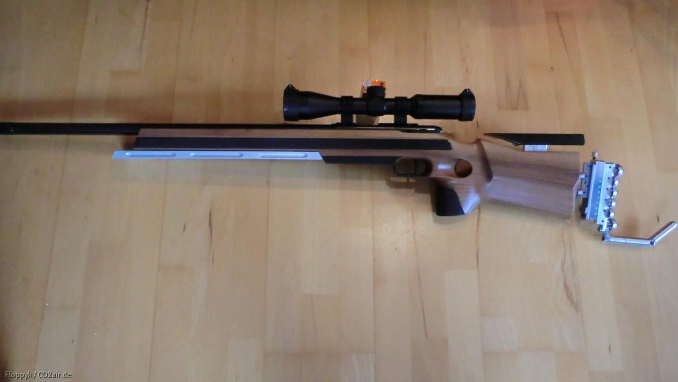 Anschütz Match 54 mit neuem Schaft