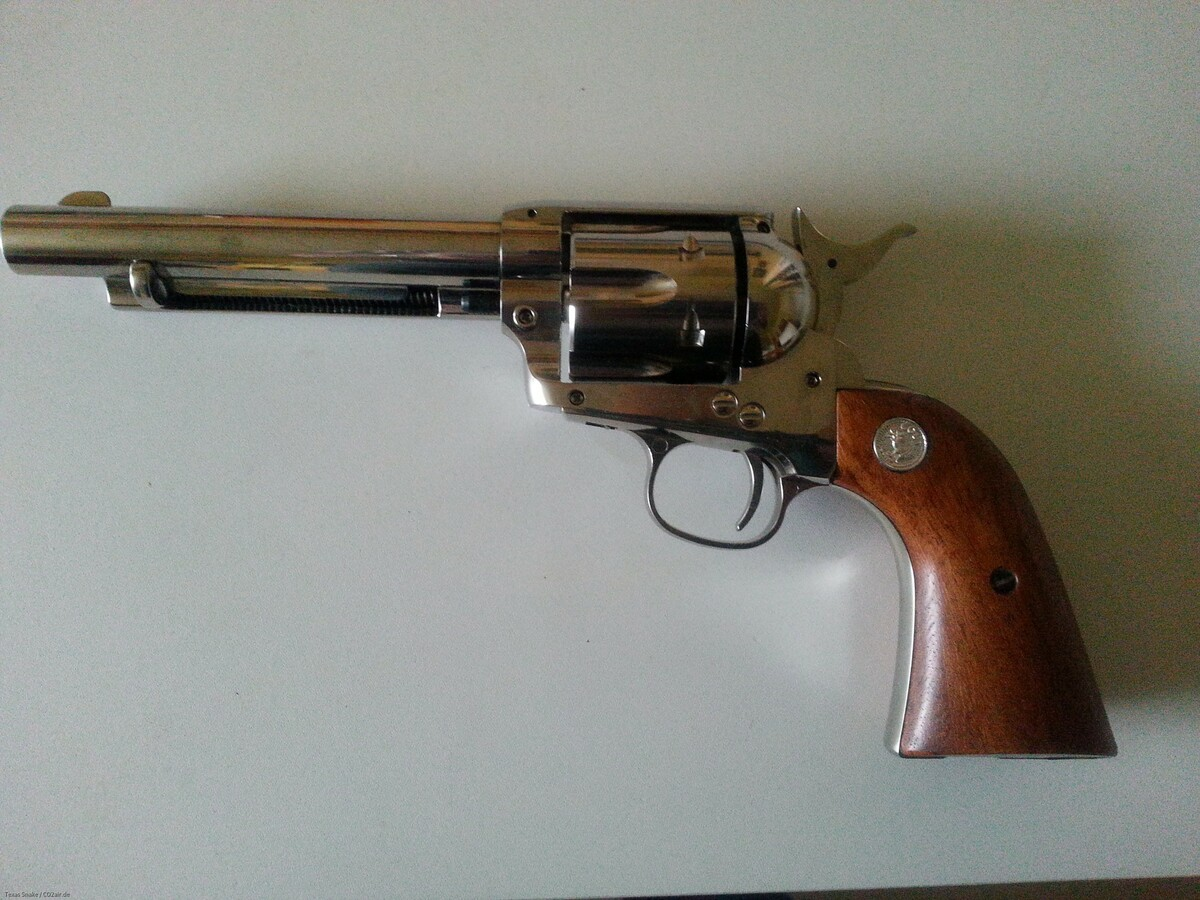 Coltemblem für RevolvergriffschalenSAA.45 CO2