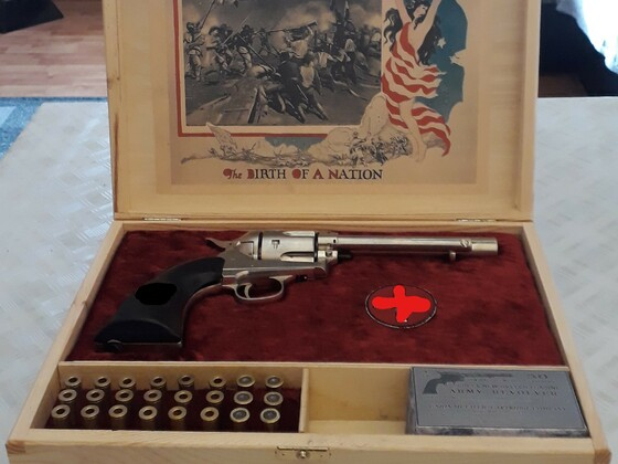 """Colt SAA .45 """"Birth of a Nation Edition"""""""