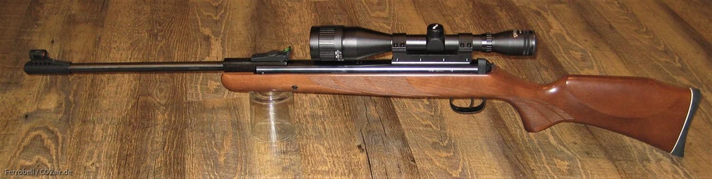 Diana 280 mit T06- Abzug und Walther 6x42 ZF