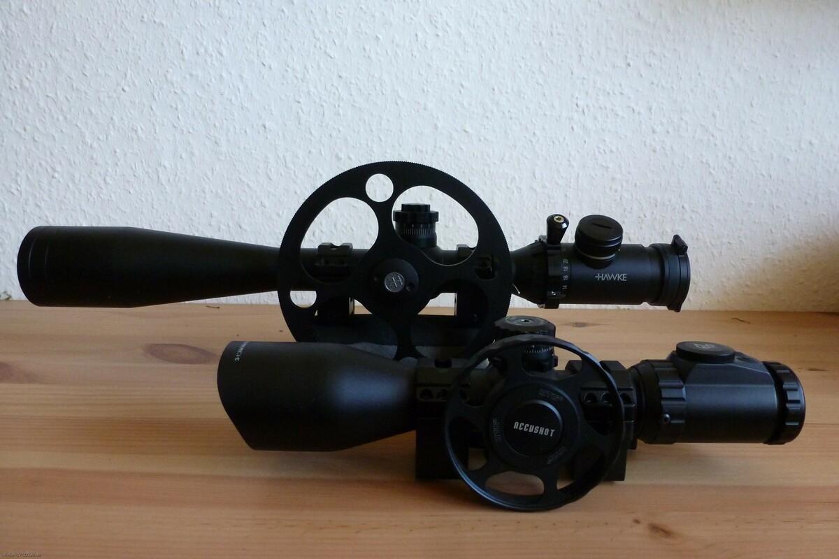 Hawke Airmax 30SF & UTG 3-12x44