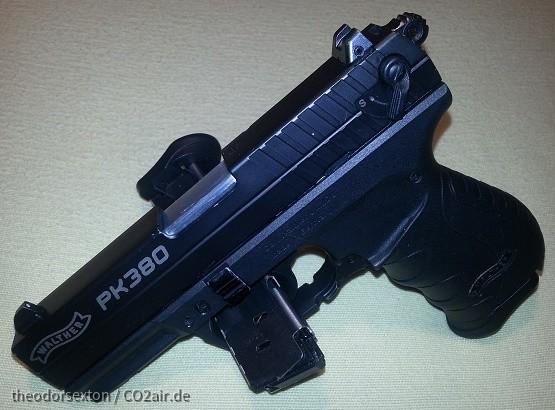 PK 380 von der scharfen Schwester  in 9mm Browning kurz kaum zu unterscheiden