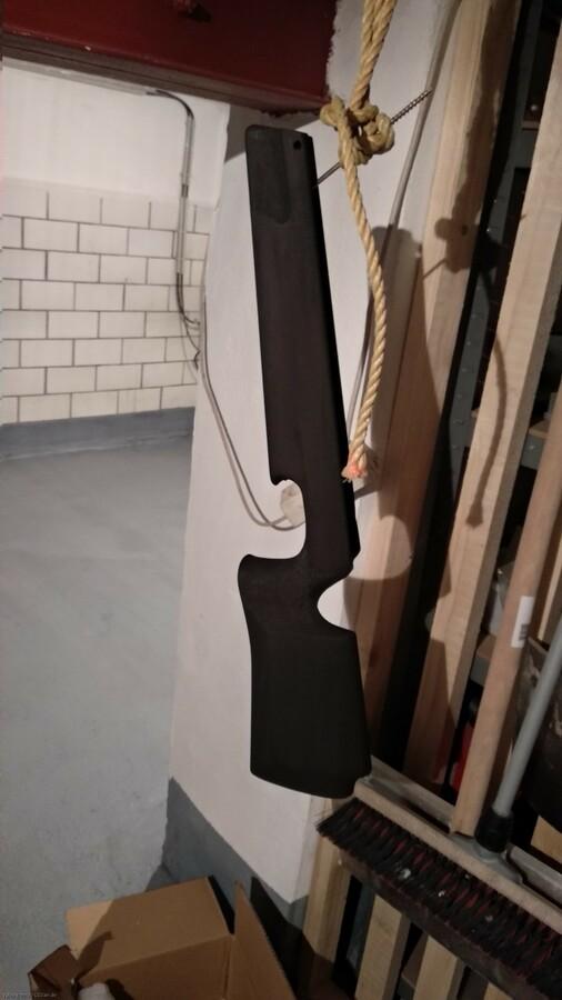 Walther LGR Schaft schwarz gebeizt