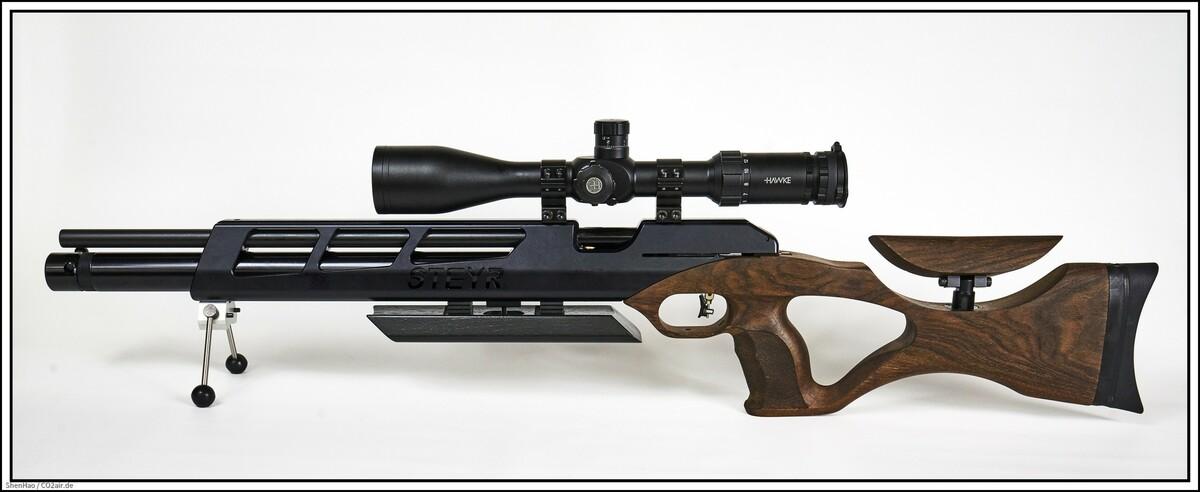 Steyr Challenge HFT Hunting mit Hawke ZF #17410, 4-16X50 FFP