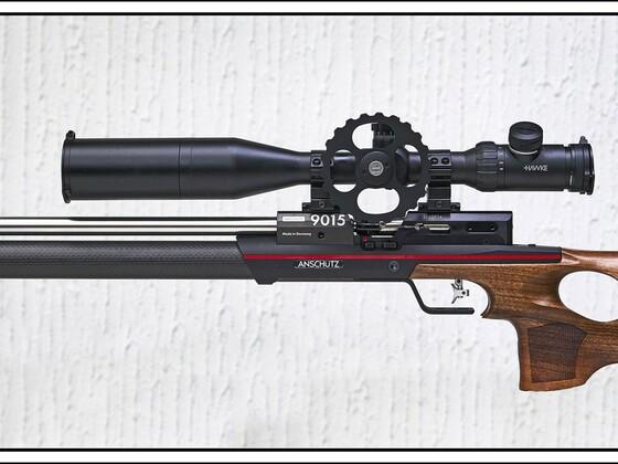 Anschütz 9015 ONE Hunting mit Hawke ZF #13310, Airmax 30 SF,  4-16X50, MEC Bi-pod