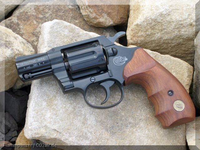 Colt Detective Spec. 9mmR Knall (Umarex)
