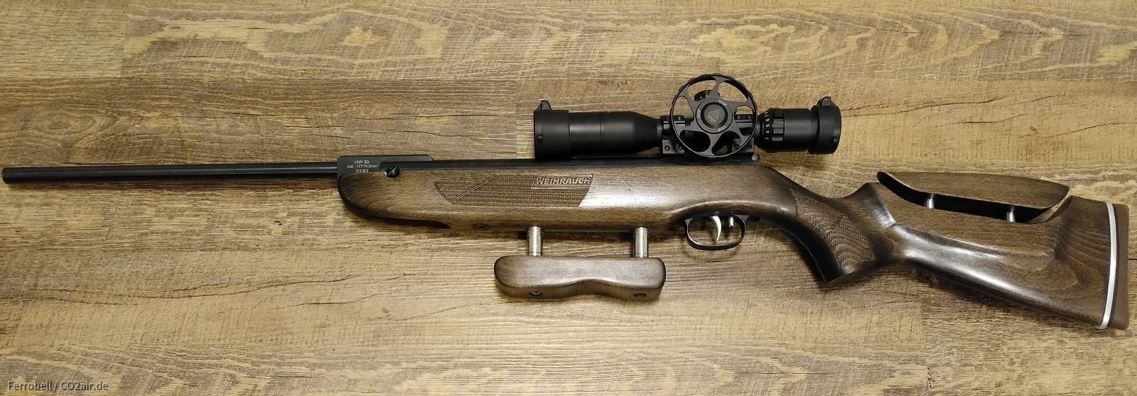 Weihrauch HW 50 S mit UTG Bug- Buster 4-12 x32