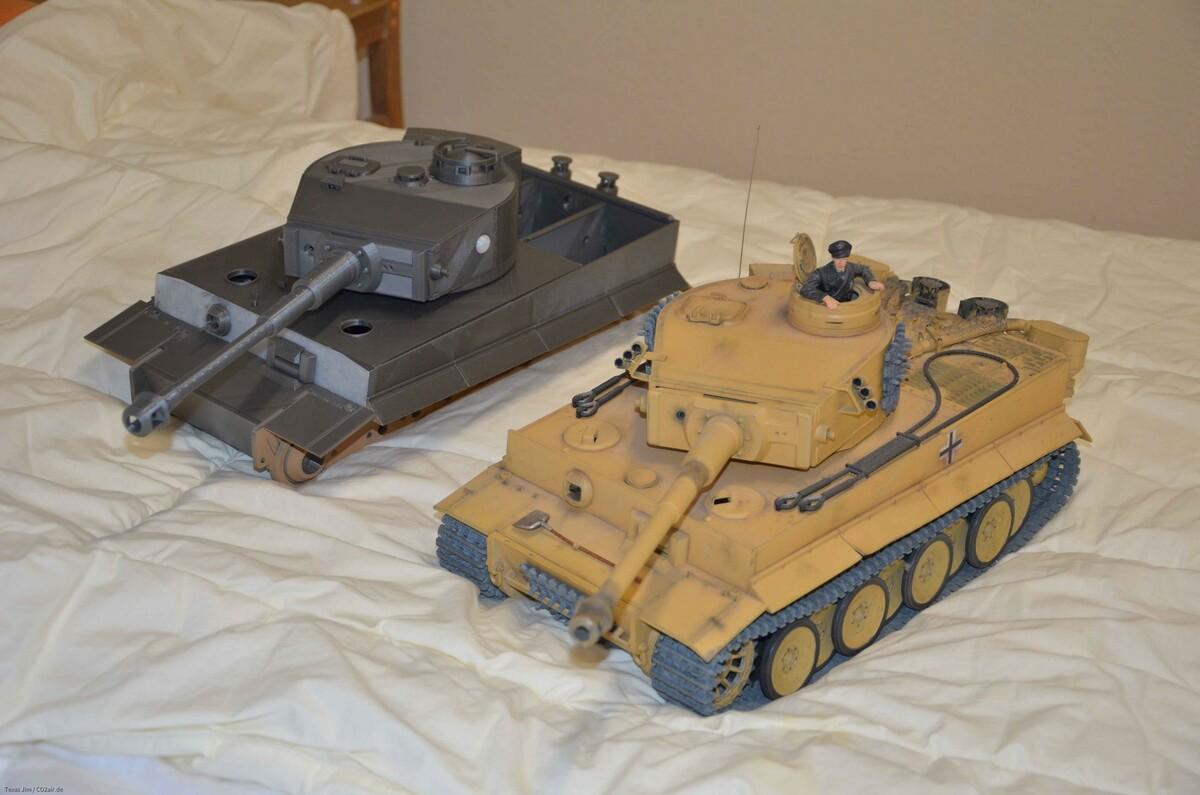 Tiger 1 aus dem 3D Drucker