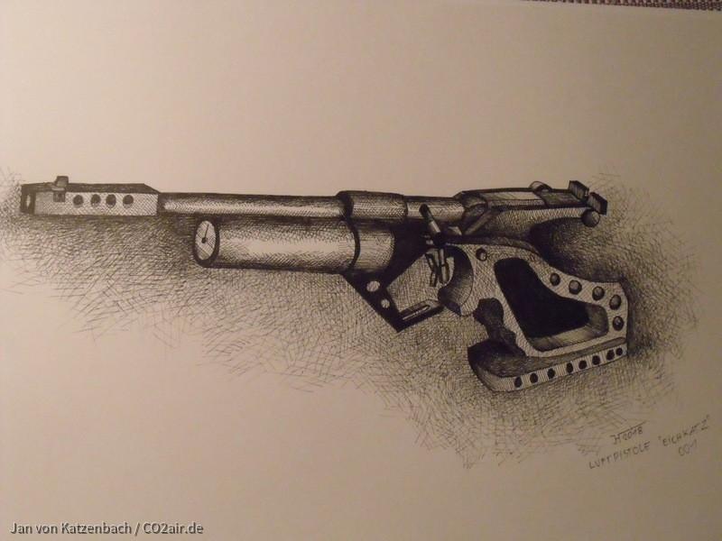 Entwurf Luftpistole