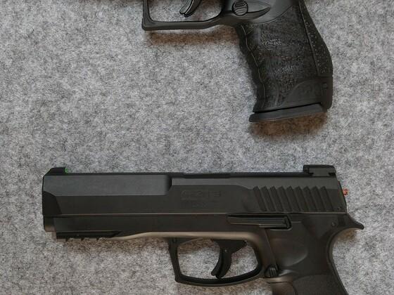 umarex T4E HDP 50 im Vergleich zur Walther PPQ (RAM)