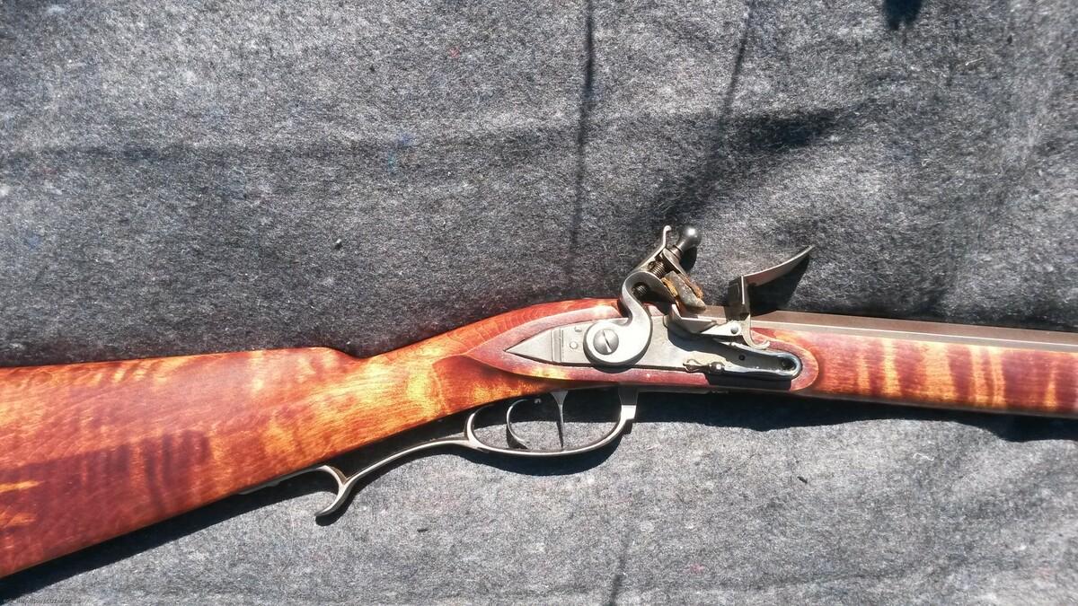 Steinschloß Custom Rifle von Brian Turner gefertigt kal. .50