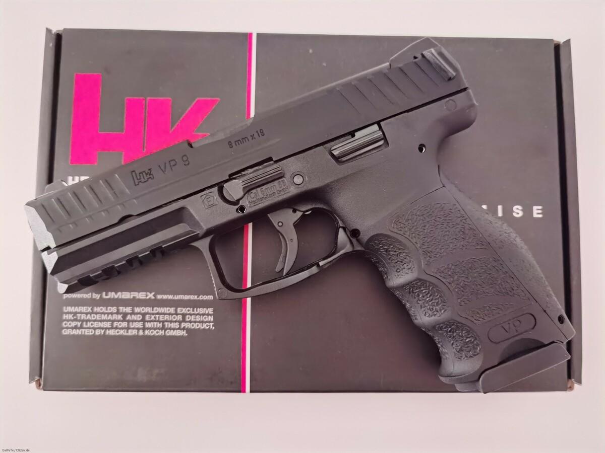 VFC Heckler & Koch VP9, GBB, 6mm BB