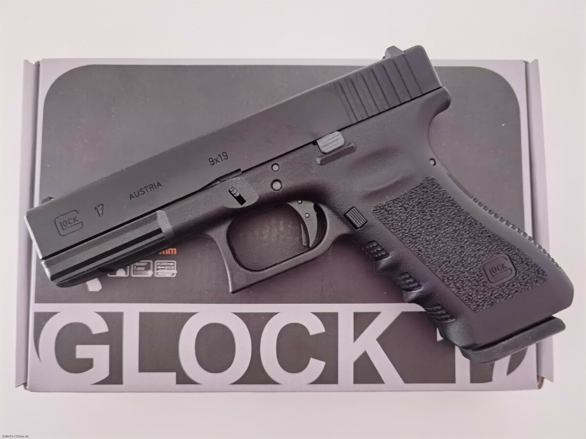 VFC Glock 17 Gen. 3, GBB, 6mm BB