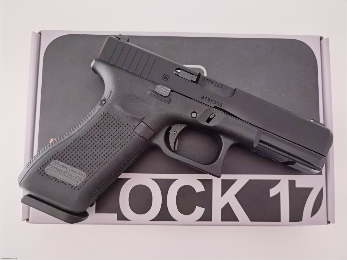 VFC Glock 17 Gen. 5, GBB, 6mm BB