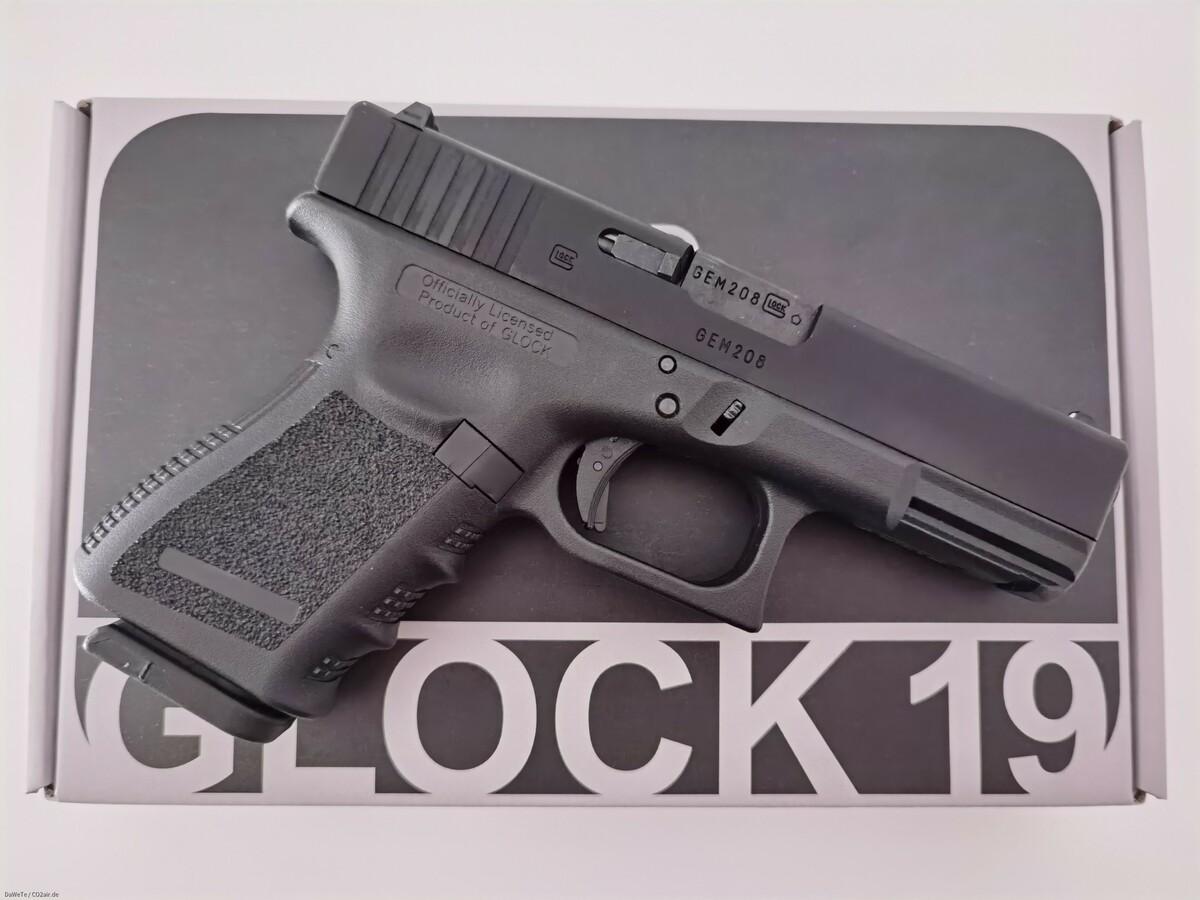 VFC Glock 19 Gen. 3, GBB, 6mm BB