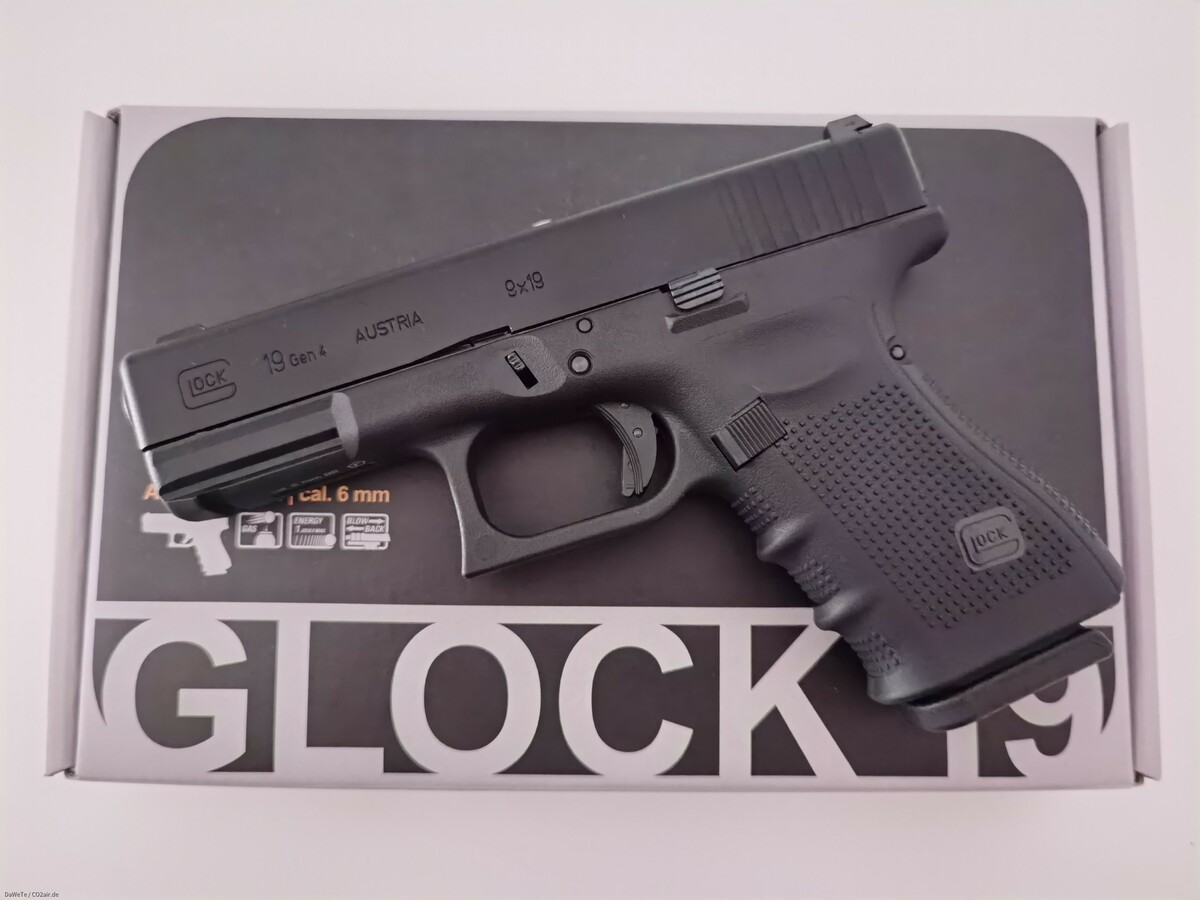 VFC Glock 19 Gen. 4, GBB, 6mm BB