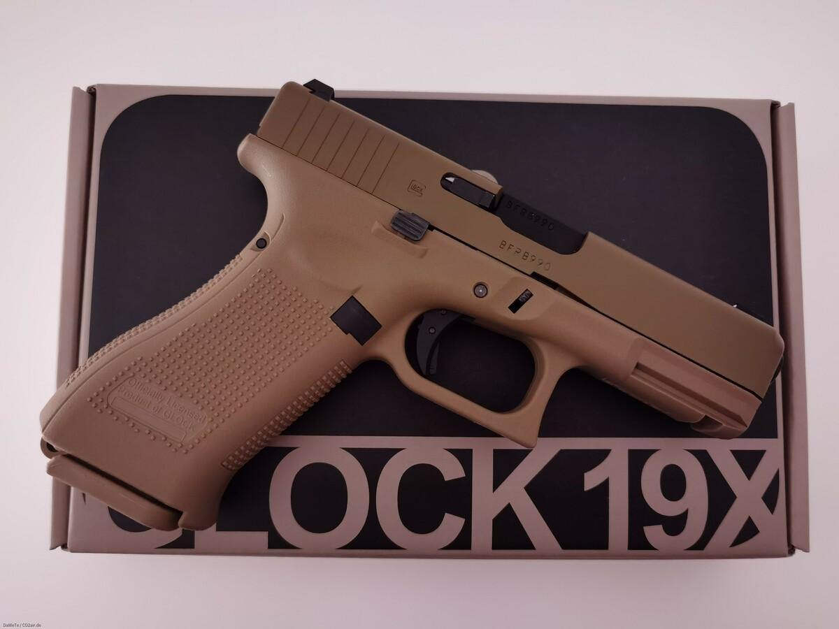 VFC Glock 19X, GBB, 6mm BB