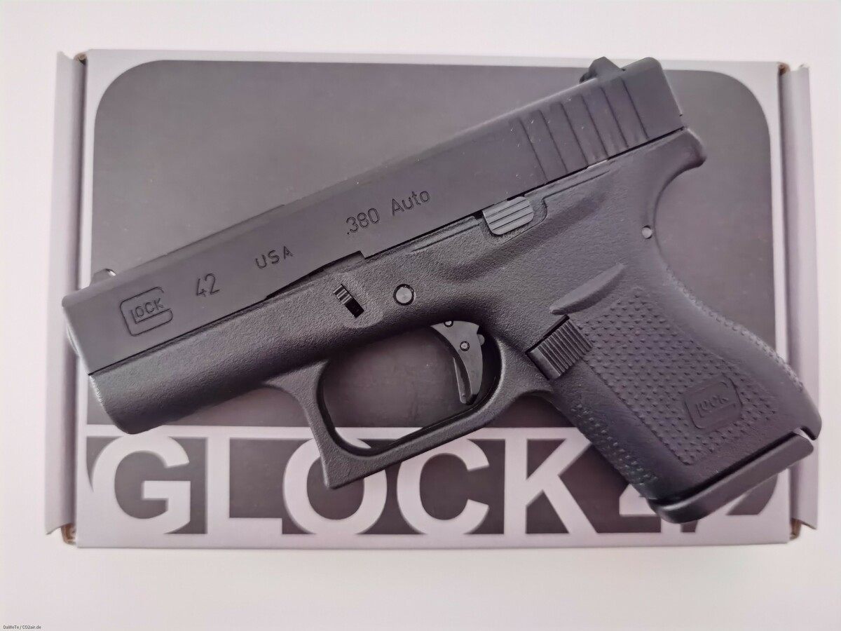 VFC Glock 42 Gen. 4, GBB, 6mm BB