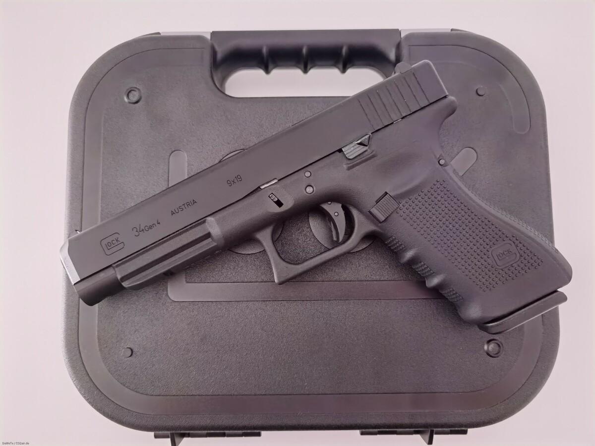 VFC Glock 34 Gen. 4, GBB/CO2, 6mm BB