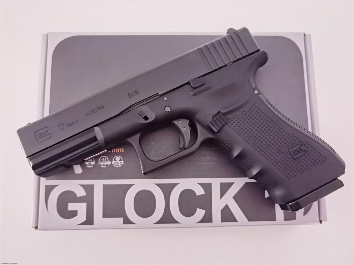KWC Glock 17 Gen. 4, CO2, 4,5mm BB