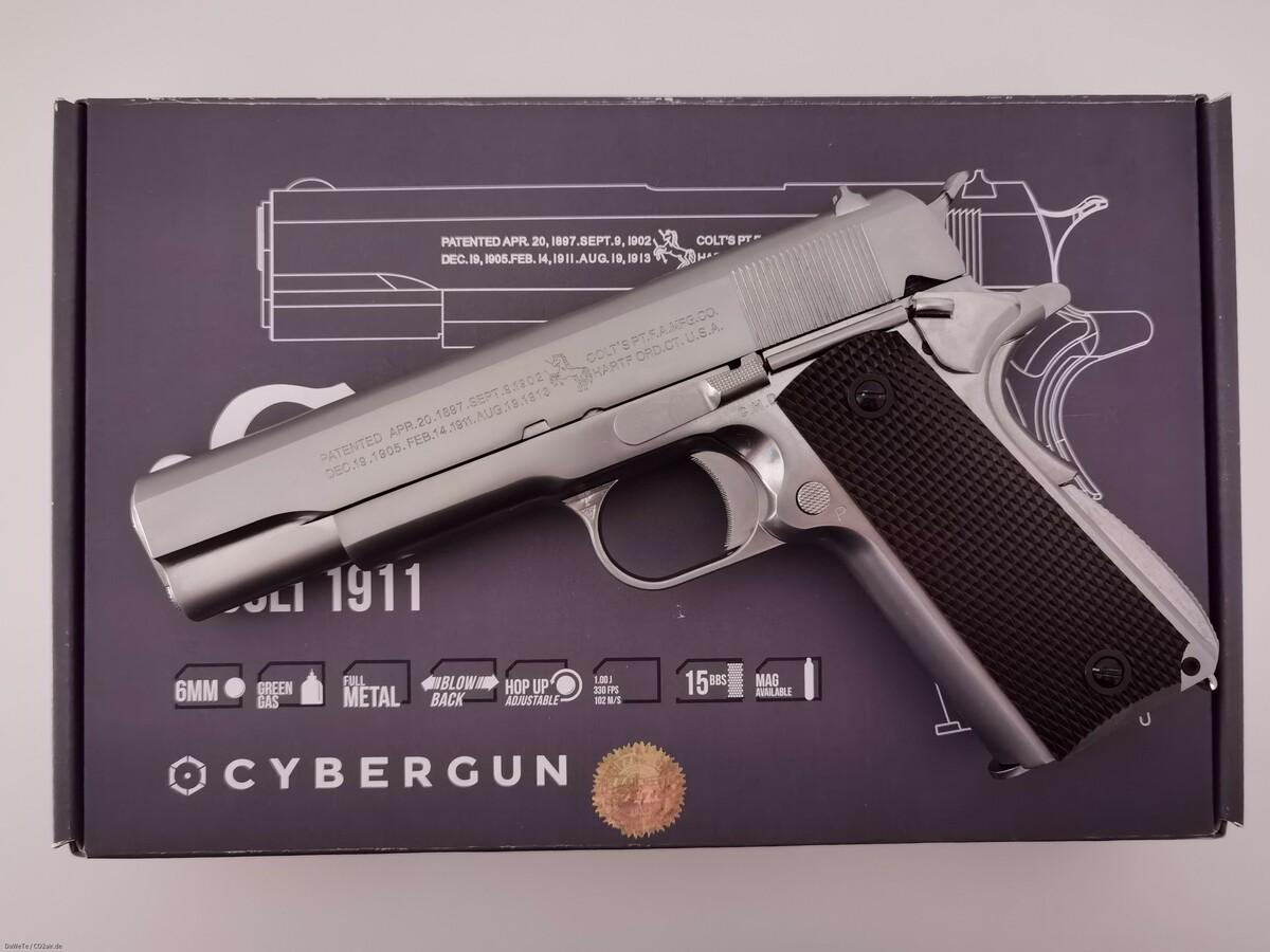 AW Custom Colt M1911 A1, GBB, 6mm BB