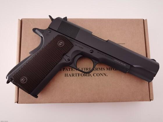 KWC Colt M1911 A1 Parkerized, CO2, 6mm BB
