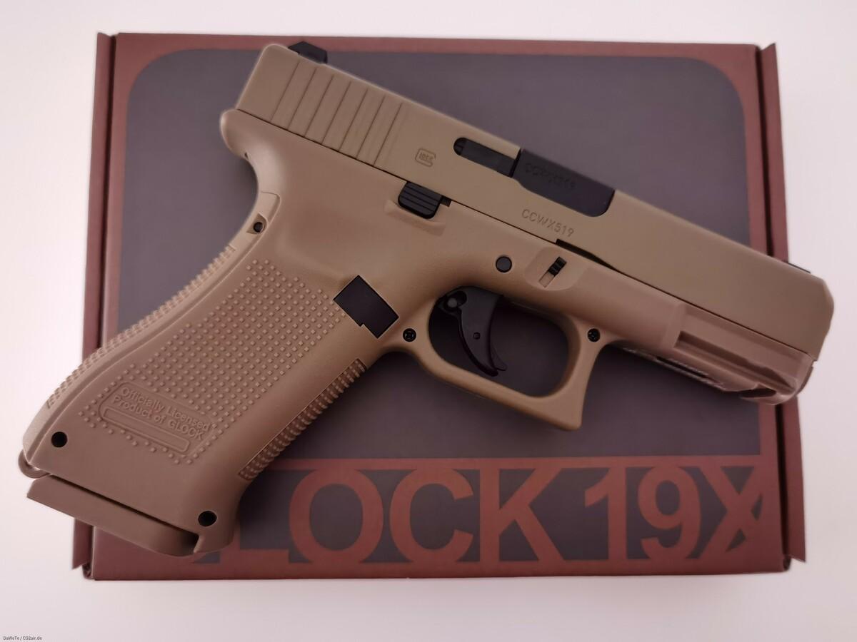 Wingun Glock 19X, CO2, 4,5mm BB