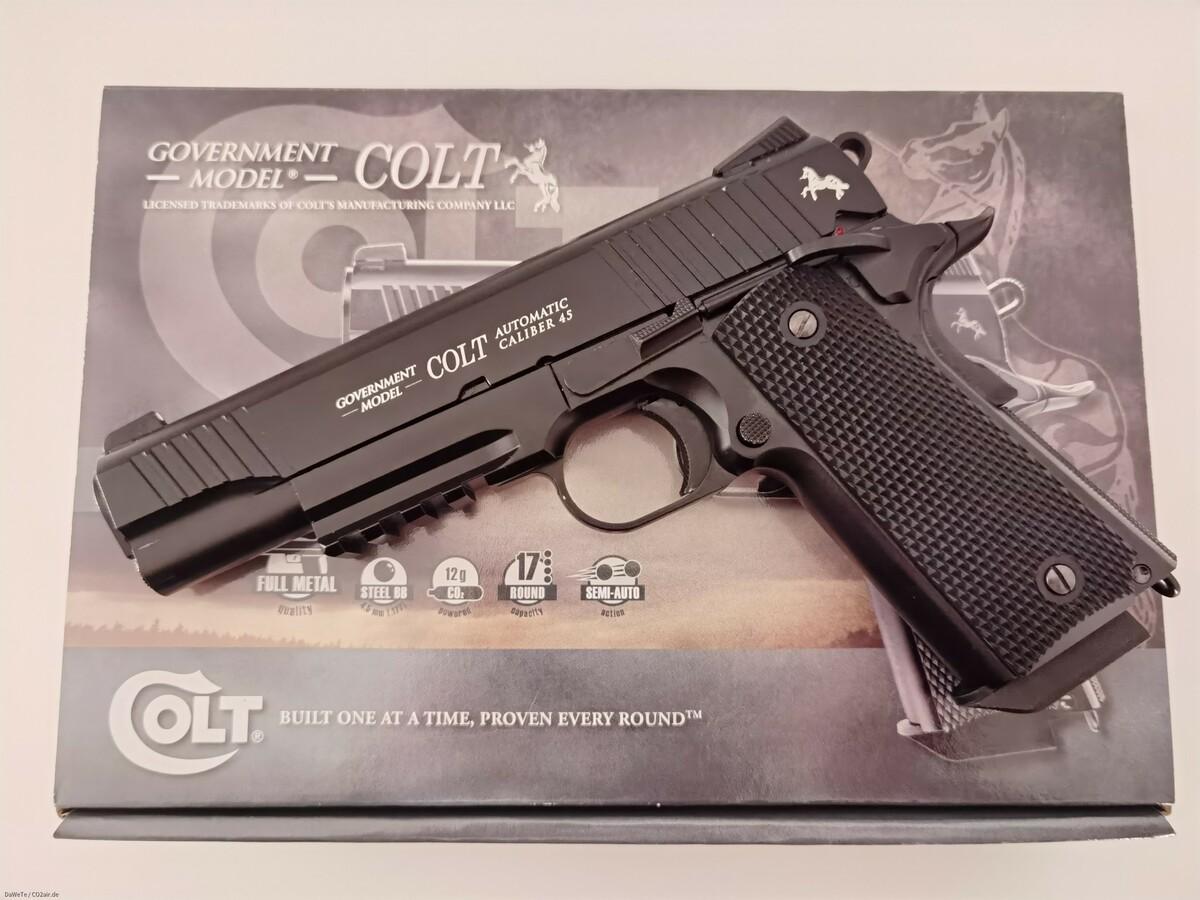 KWC Colt M45 CQBP, CO2, 4,5mm BB