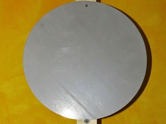 Stahlronde 400mm x 3mm für CAS