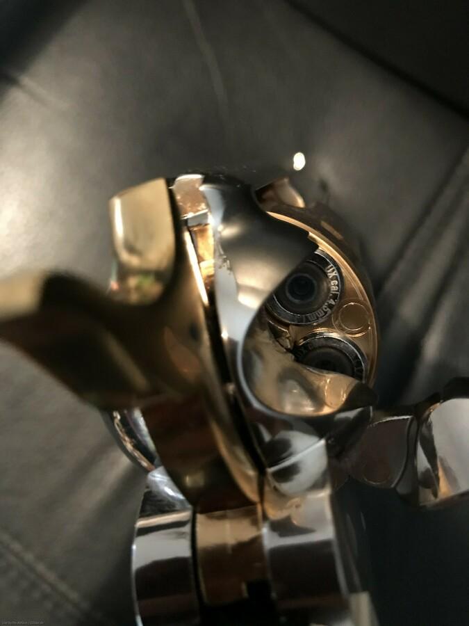 Colt SAA Gold/Nickel Edition 7,5 Zoll