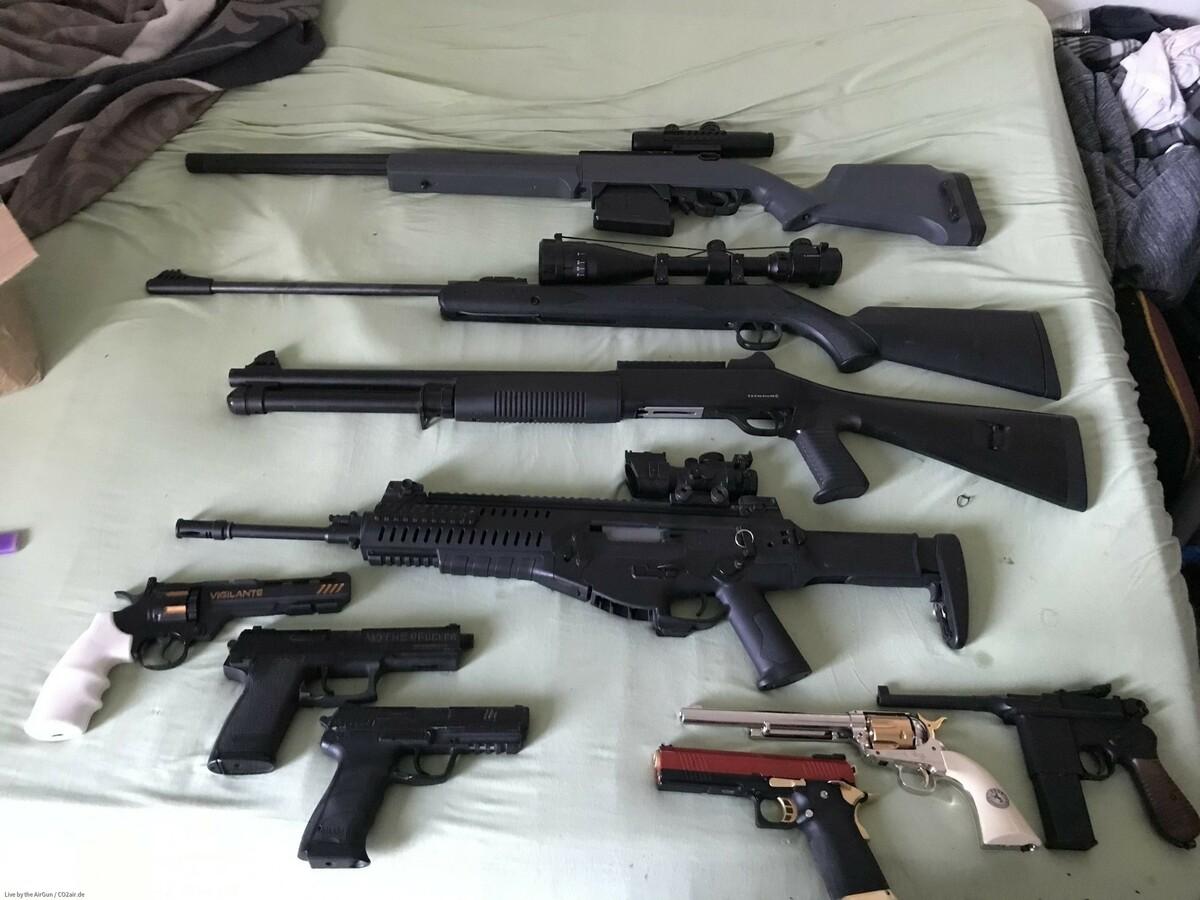 Meine aktuelle Freiewaffen Sammlung
