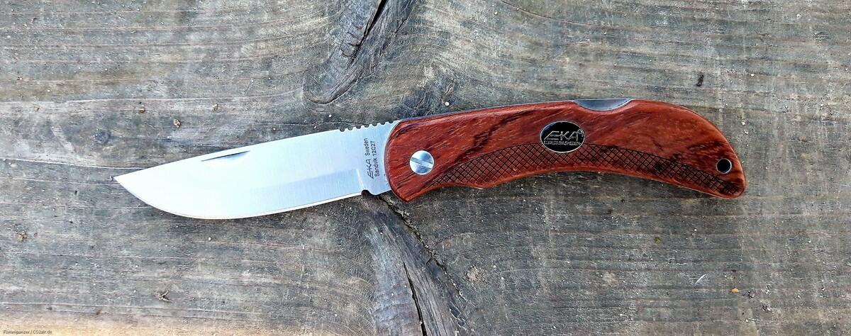 EKA Messer Bubinga Holz 42a-konform