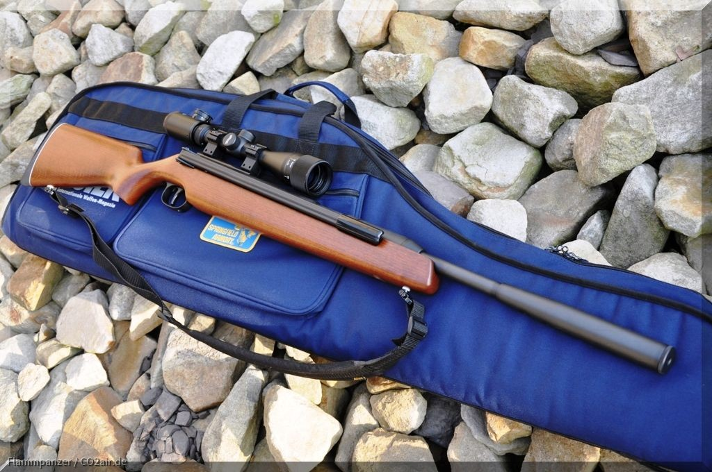 Diana 48 Holzschaft 4,5mm .177 Luftgewehr Seitenspanner