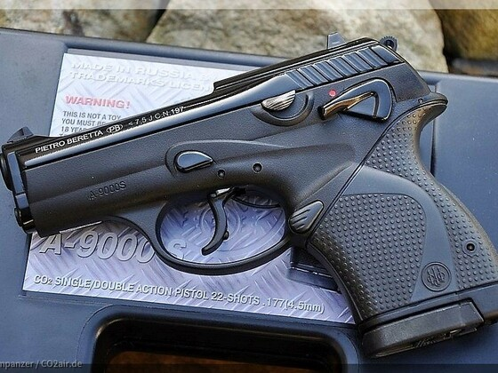 Anics Beretta 9000 4,5mm Diabolo CO2 Pistole NBB