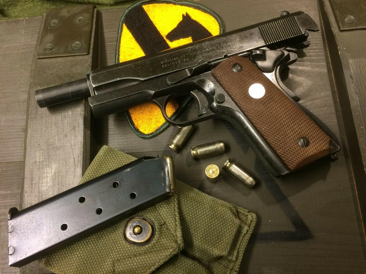 M-1911A1-67 RMI/MGC Pistol Model, Japan
