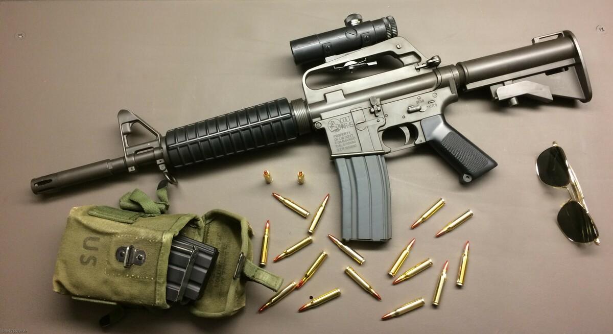 Colt M-177 Commando + Colt 4x20 Scope, L&S