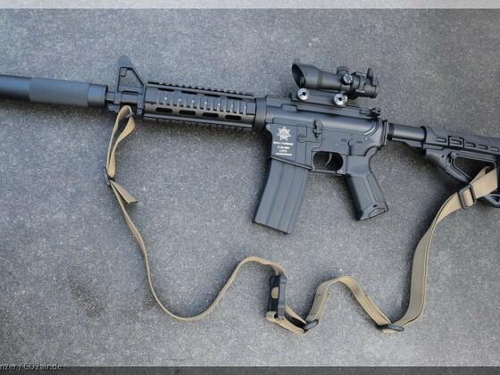 Defense Forces M4 Carbine 4,5mm BB CO2 BLACK RIFLE SPECIAL FORCES EDITION