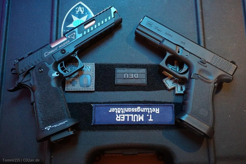 EMG TTI Combat Master 2011 V2 + VFC Glock 17 Gen4