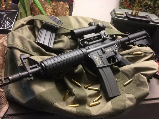 Colt XM-4 Prototyp + Colt 4x20 IL Scope