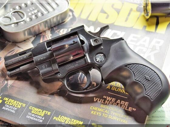 Weihrauch HW 4 4mm Rand Revolver Snubby