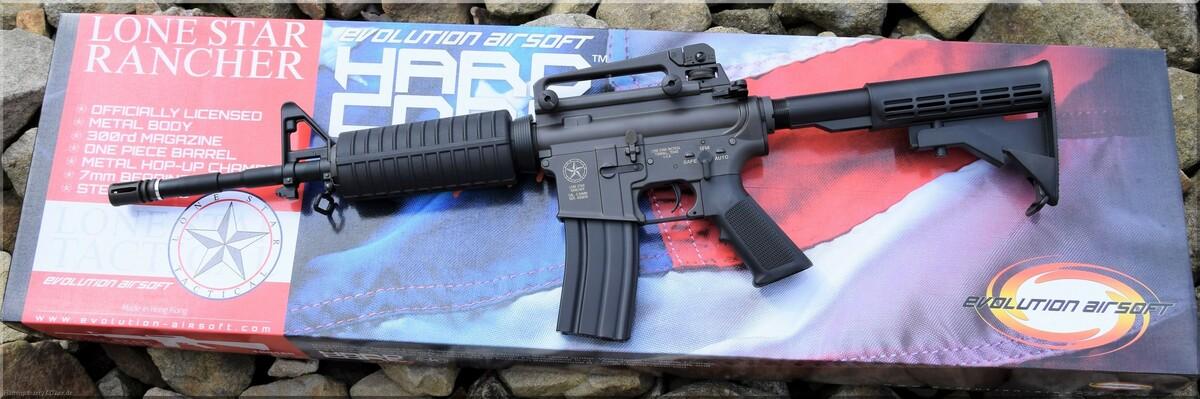 Evolution King Arms M4 S AEG 6mm BB RANCHER